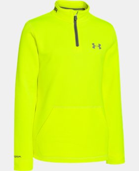 Boys' UA Storm Armour® Fleece ¼ Zip