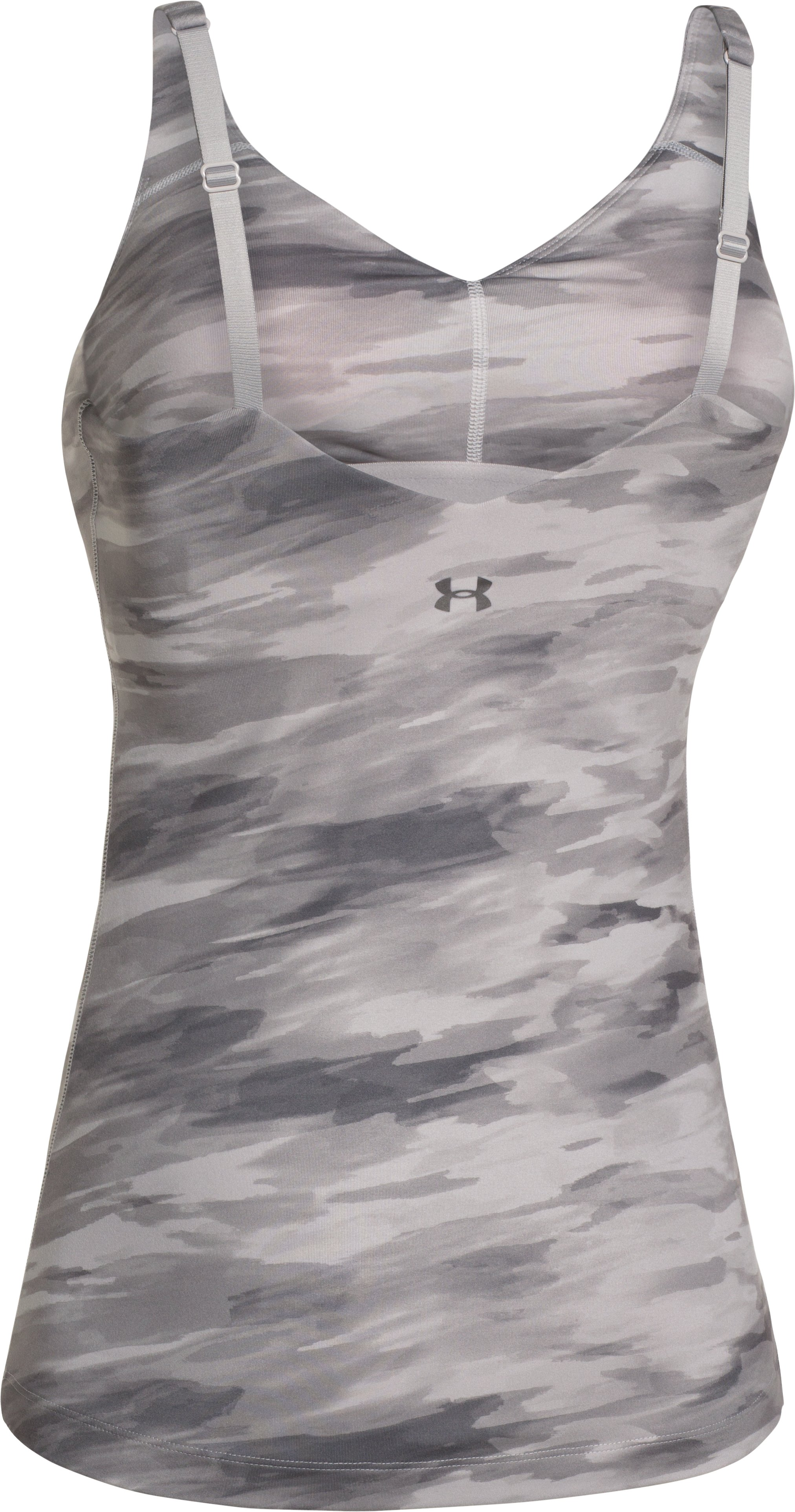 Women's UA Perfect Wrapped Tank, MOON MIST