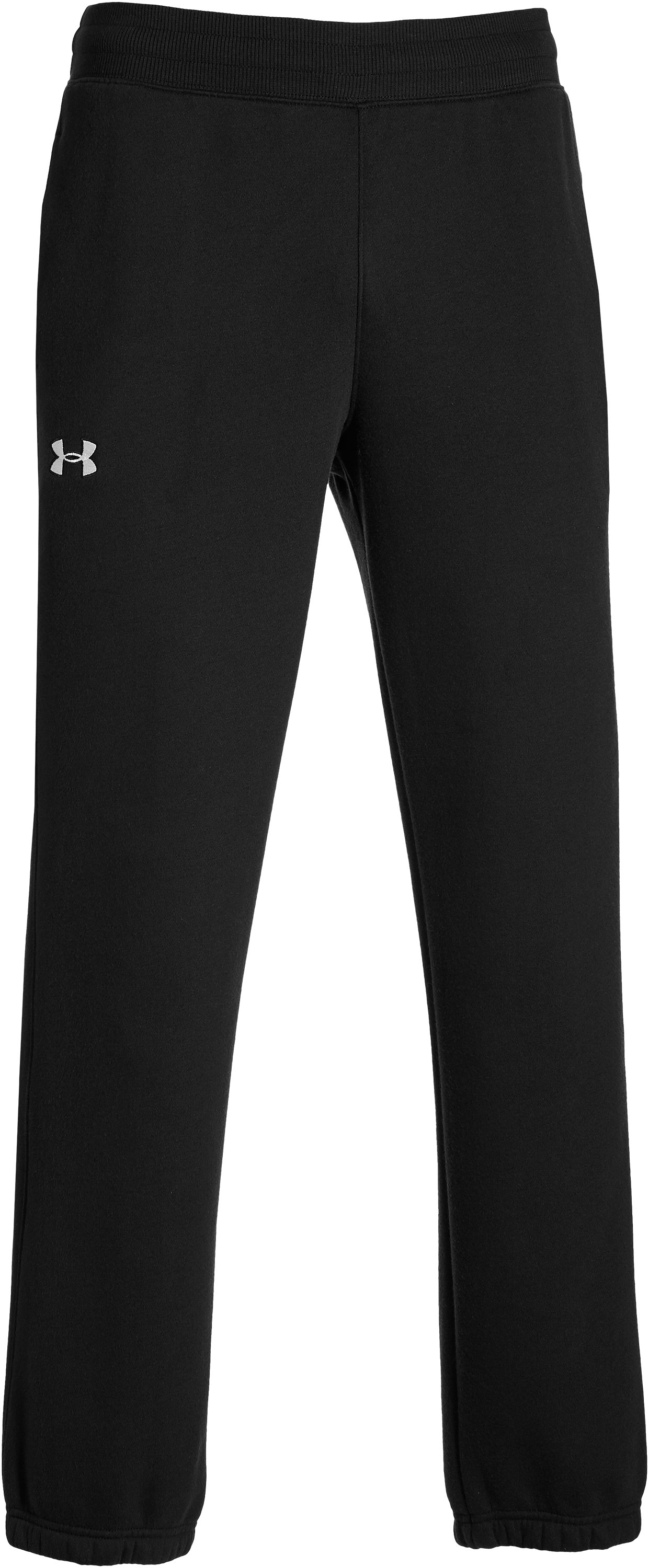 Men's UA Storm Rival Cuffed Pants, Black ,