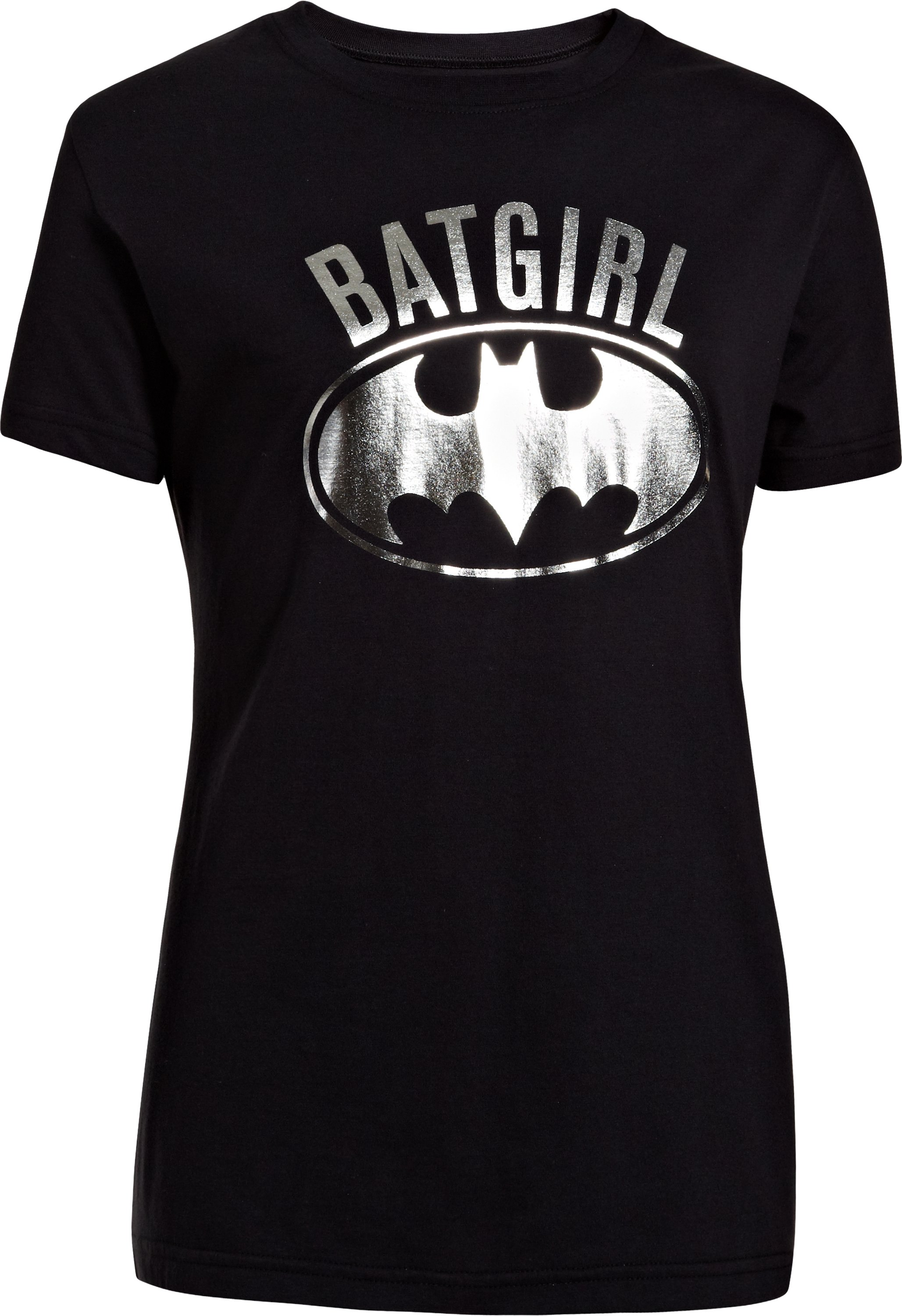 Girls' Under Armour® Alter Ego Batgirl Foil T-Shirt, Black