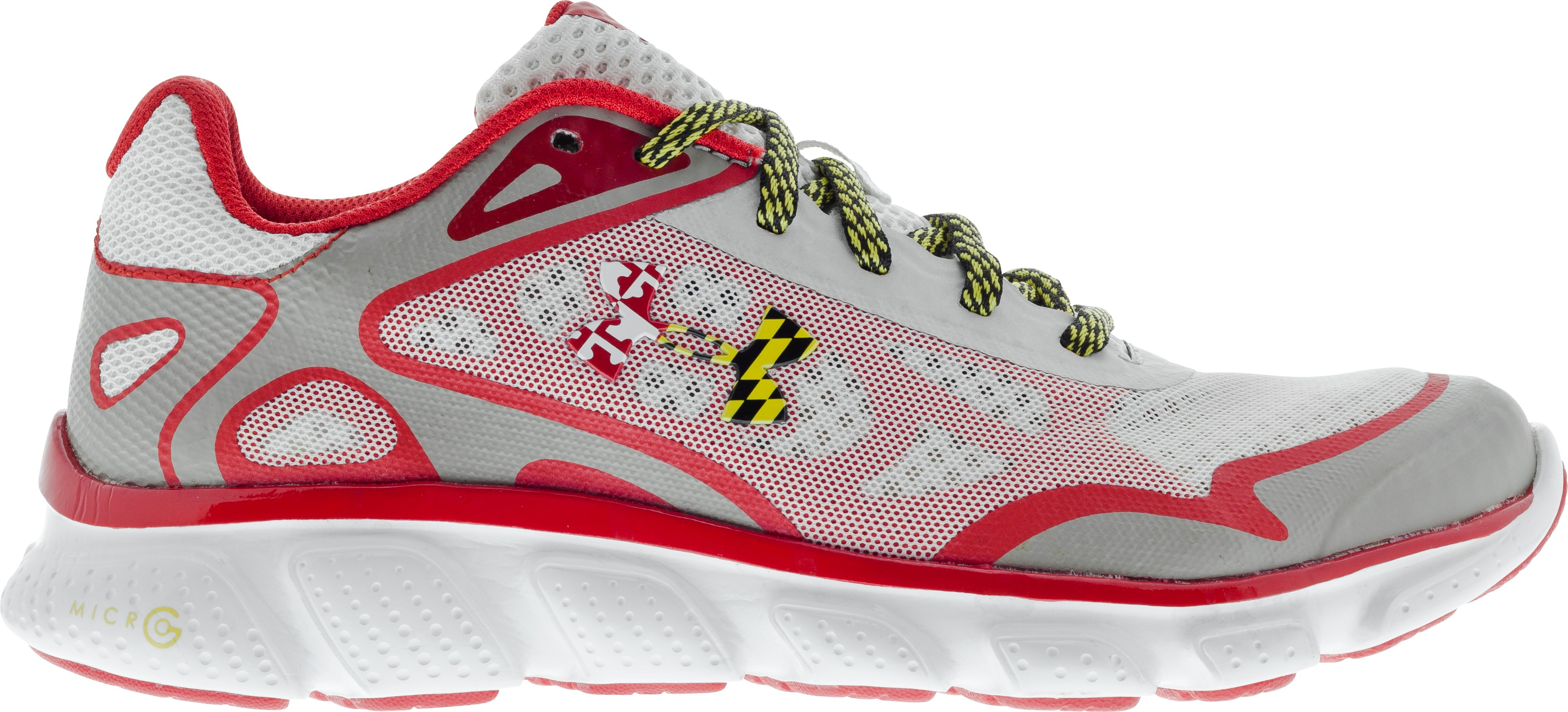 Women's UA Micro G® Pulse Running Shoes — Charm City Edition, Aluminum, zoomed image