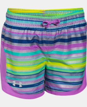 Girls' UA Stunner Novelty Shorts LIMITED TIME: FREE U.S. SHIPPING 6 Colors $12.74 to $20.99