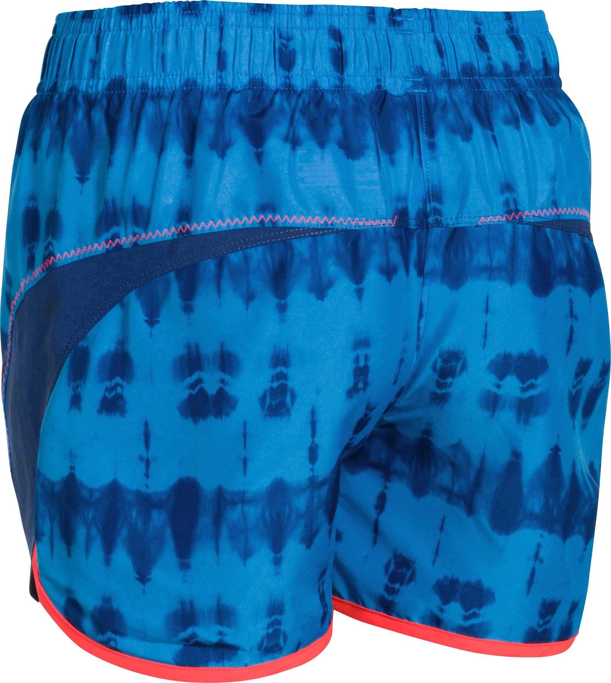 Girls' UA Stunner Novelty Shorts, SNORKEL