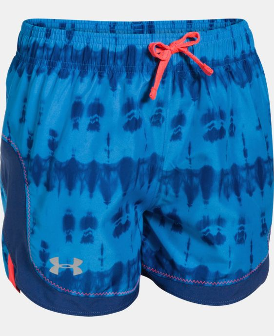 Girls' UA Stunner Novelty Shorts LIMITED TIME: FREE U.S. SHIPPING 1 Color $12.74 to $15.74