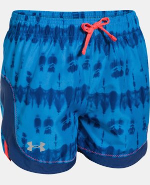Girls' UA Stunner Novelty Shorts LIMITED TIME: FREE U.S. SHIPPING 2 Colors $12.74 to $15.74