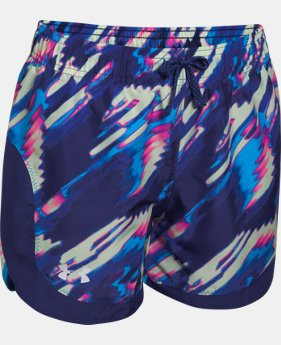 Best Seller Girls' UA Stunner Novelty Shorts LIMITED TIME: FREE SHIPPING 1 Color $27.99