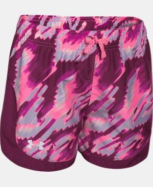 Girls' UA Stunner Novelty Shorts  1 Color $15.74 to $16.99