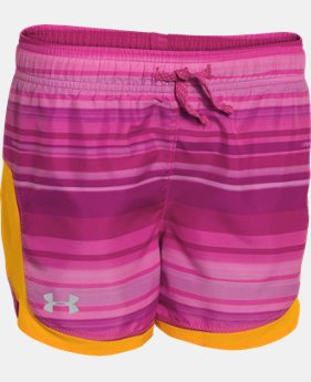 Girls' UA Stunner Novelty Shorts  3 Colors $16.99 to $20.99