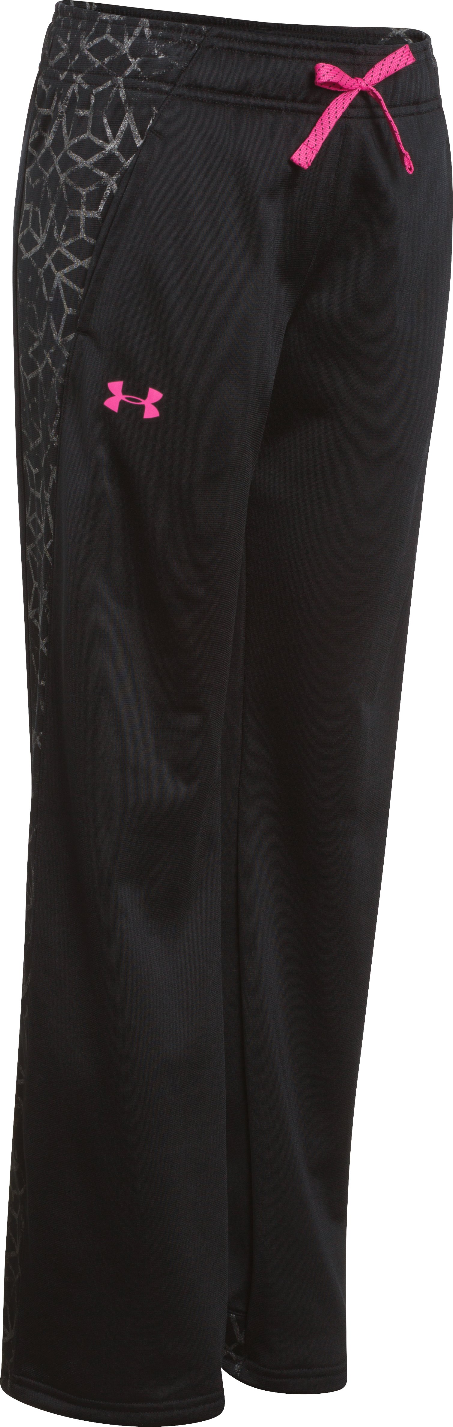 Girls' UA Collection Pant, Black