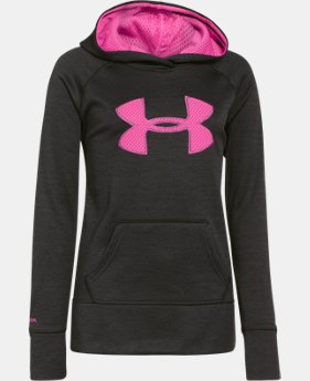 Girls' UA Big Logo Armour® Fleece Hoodie  1 Color $44.99