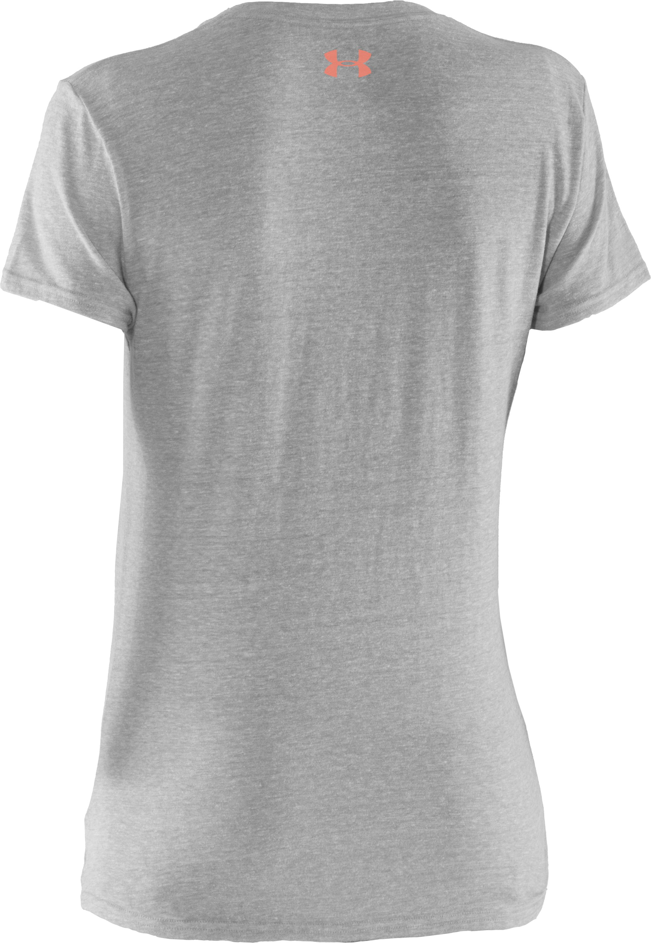 Women's UA Wish Will Graphic T-Shirt, True Gray Heather