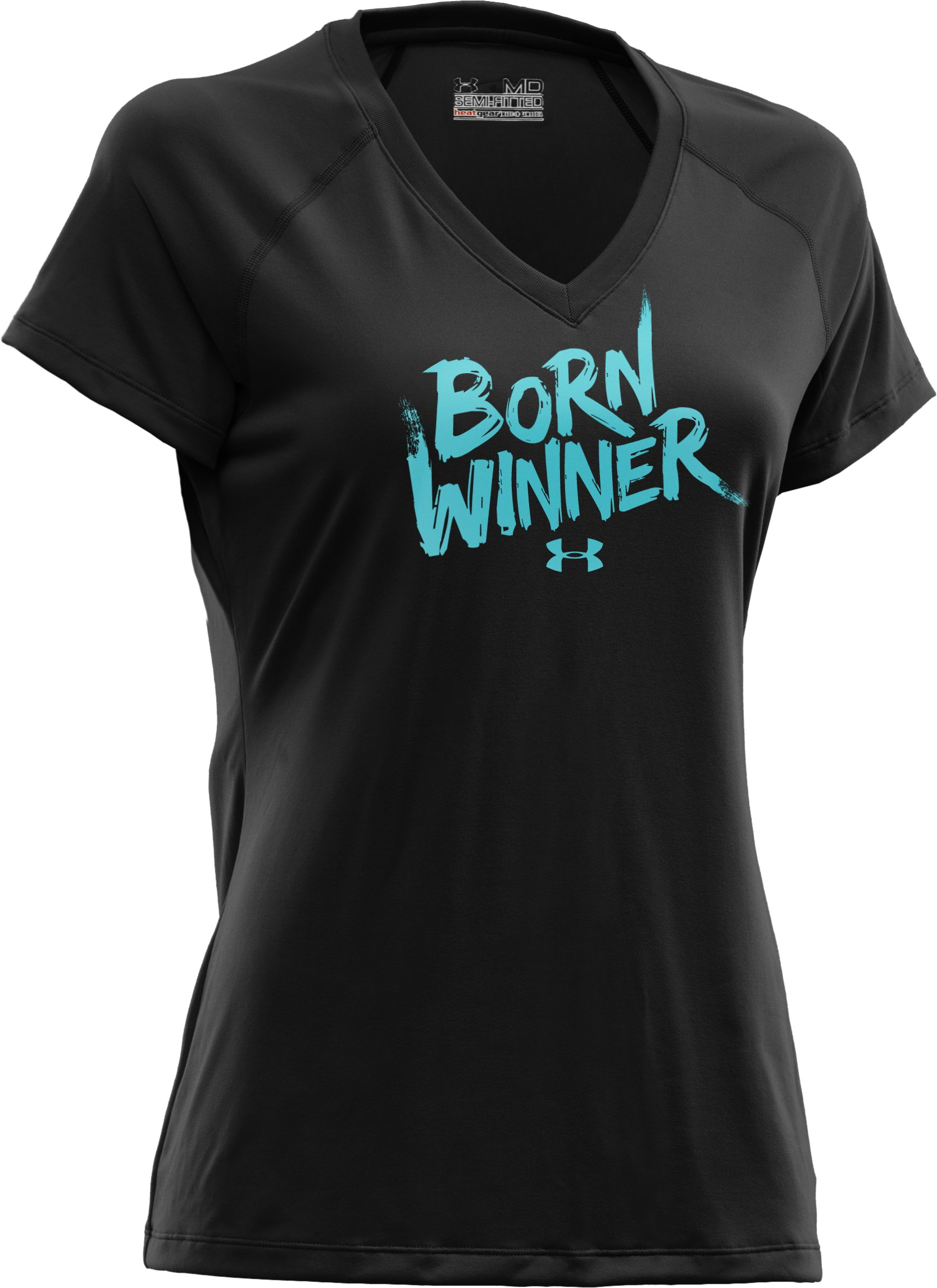 Women's UA Born Winner Graphic T-Shirt, Black