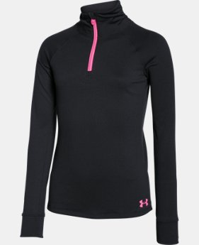 Best Seller Girls' UA Tech™ 1/4 Zip  4 Colors $34.99