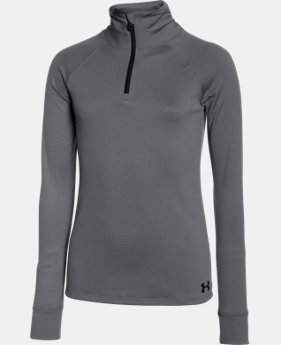 Girls' UA Tech™ 1/4 Zip  1 Color $26.99