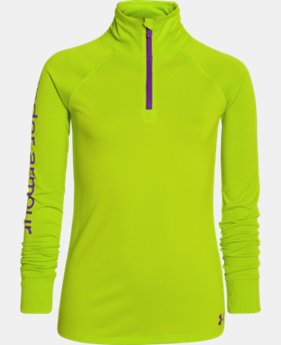 Girls' UA Tech™ 1/4 Zip  1 Color $29.99