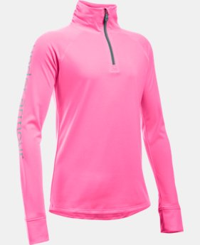 Girls' UA Tech™ 1/4 Zip  1 Color $20.24 to $26.99