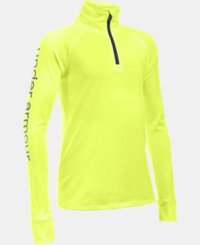 Girls' UA Tech™ 1/4 Zip LIMITED TIME: FREE U.S. SHIPPING 1 Color $20.24 to $34.99