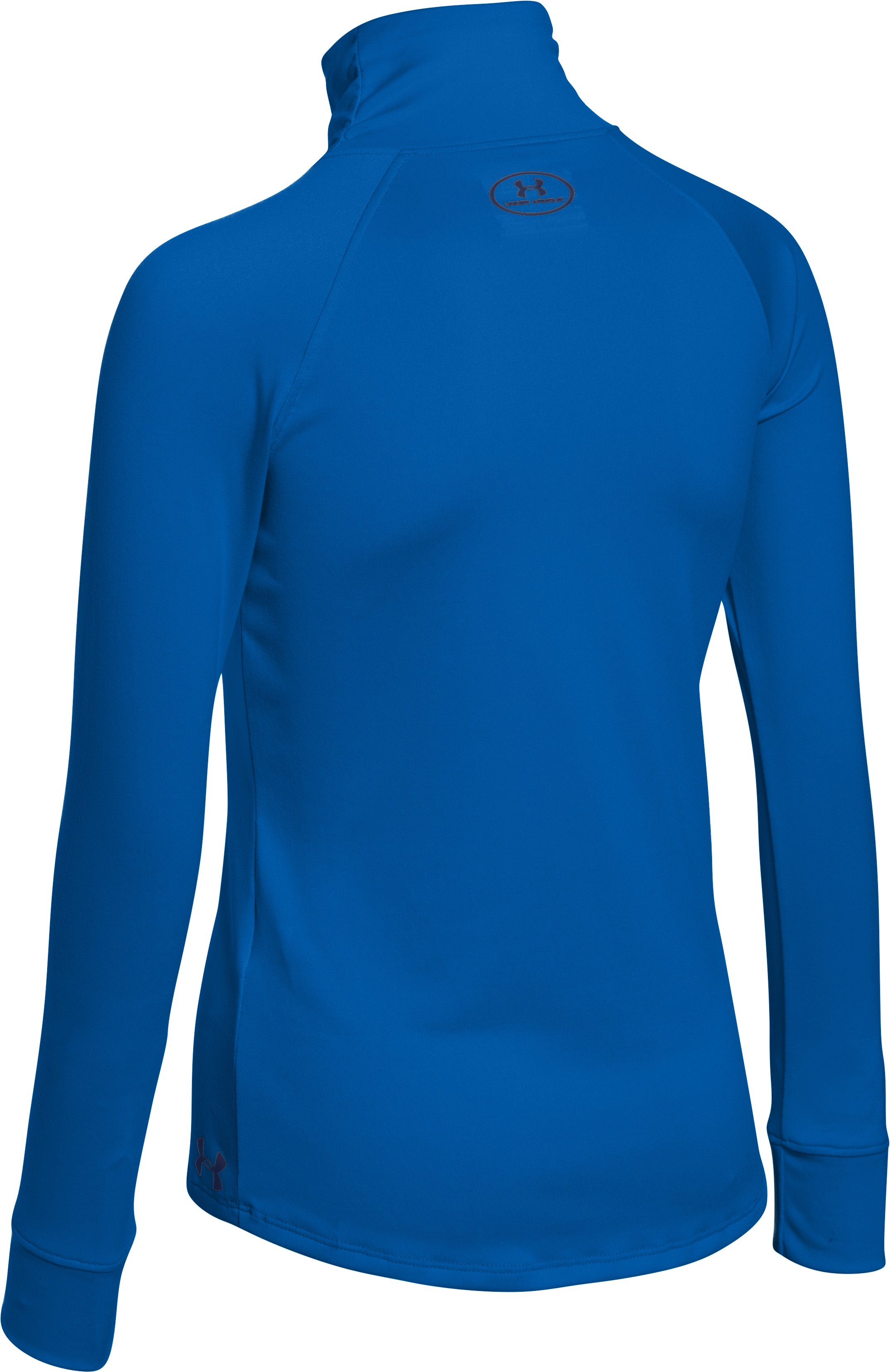 Girls' UA Tech™ 1/4 Zip, ULTRA BLUE