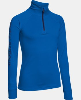 Girls' UA Tech™ 1/4 Zip LIMITED TIME: FREE U.S. SHIPPING 2 Colors $20.24 to $26.99