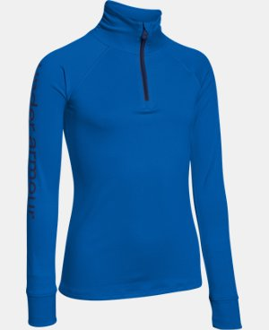 Girls' UA Tech™ 1/4 Zip LIMITED TIME: FREE U.S. SHIPPING  $20.24 to $26.99