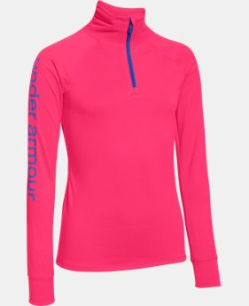Best Seller Girls' UA Tech™ 1/4 Zip   $34.99