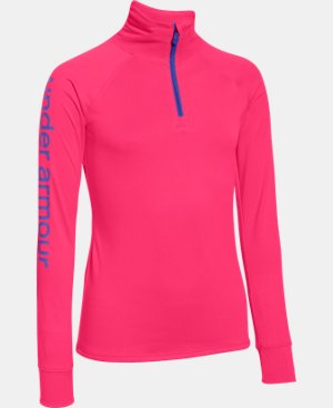 New Arrival  Girls' UA Tech™ 1/4 Zip  1 Color $39.99
