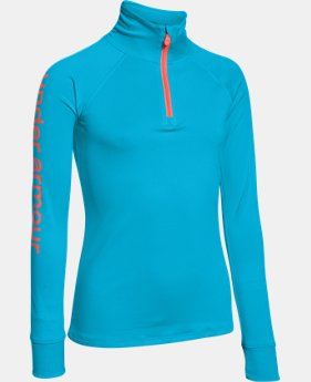 Girls' UA Tech™ ¼ Zip  1 Color $20.24