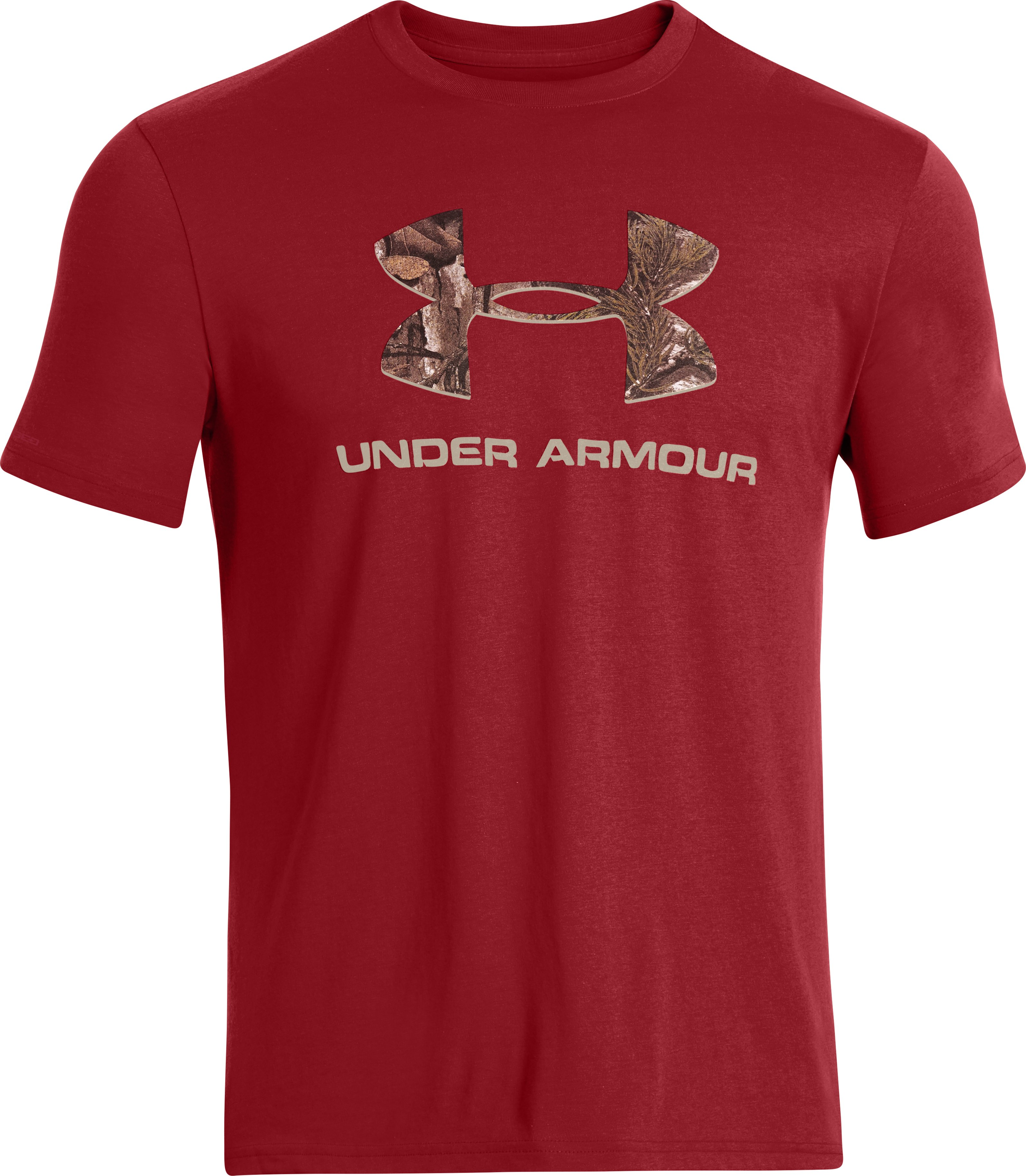 Men's UA Camo Fill Logo T-Shirt, DAREDEVIL RED