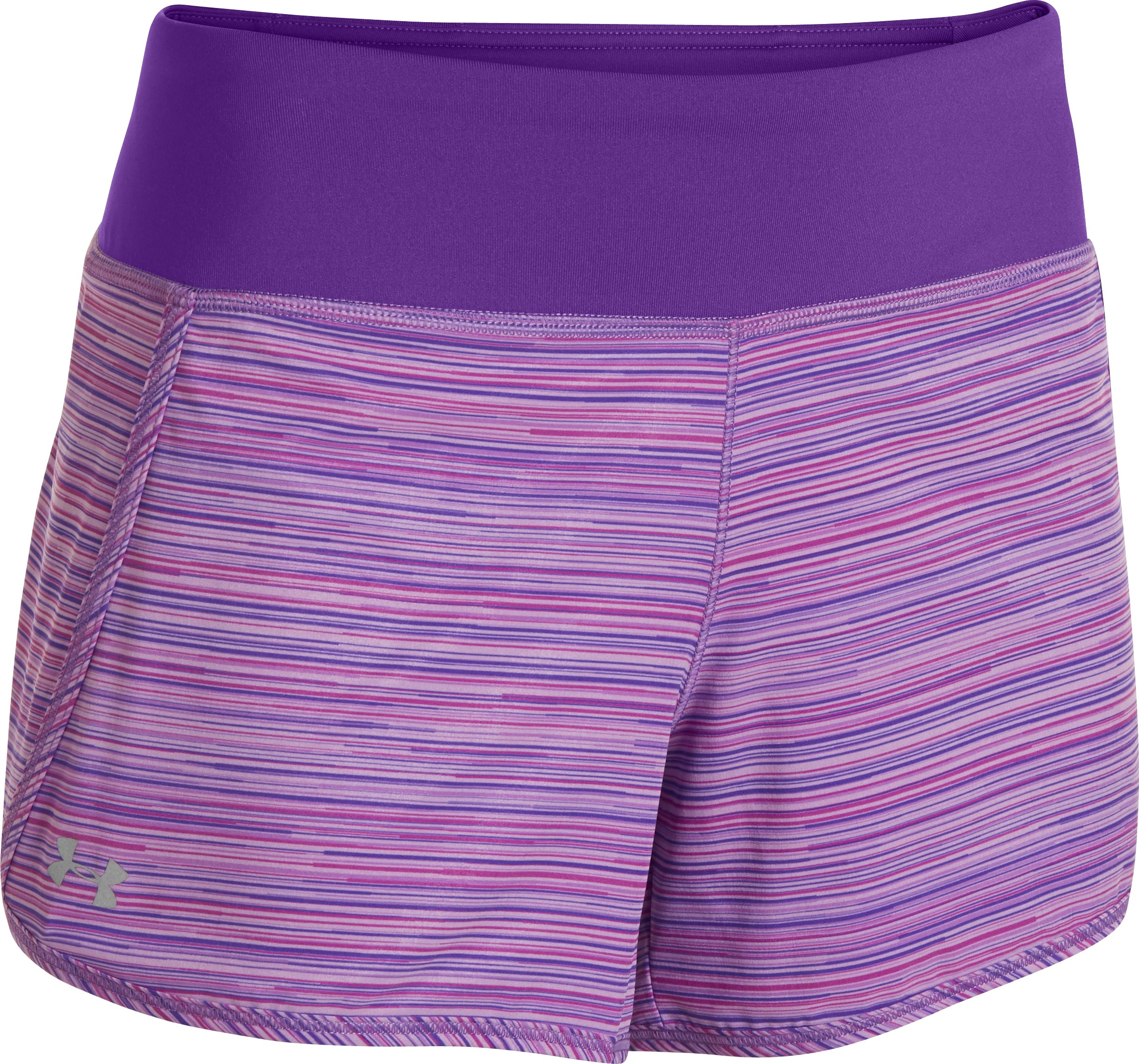 Women's UA Printed Get Going Shorts, EXOTIC BLOOM,