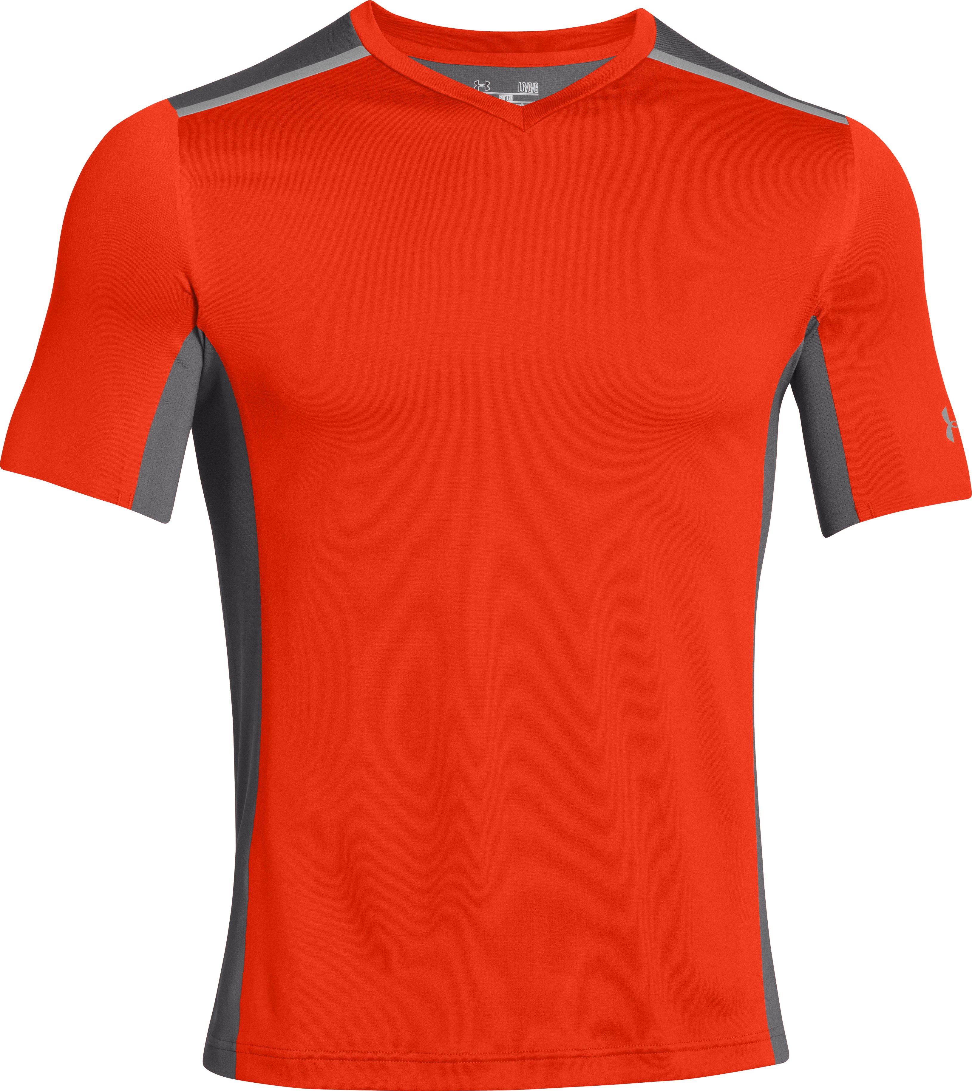 Men's UA Interval V-Neck, Volcano