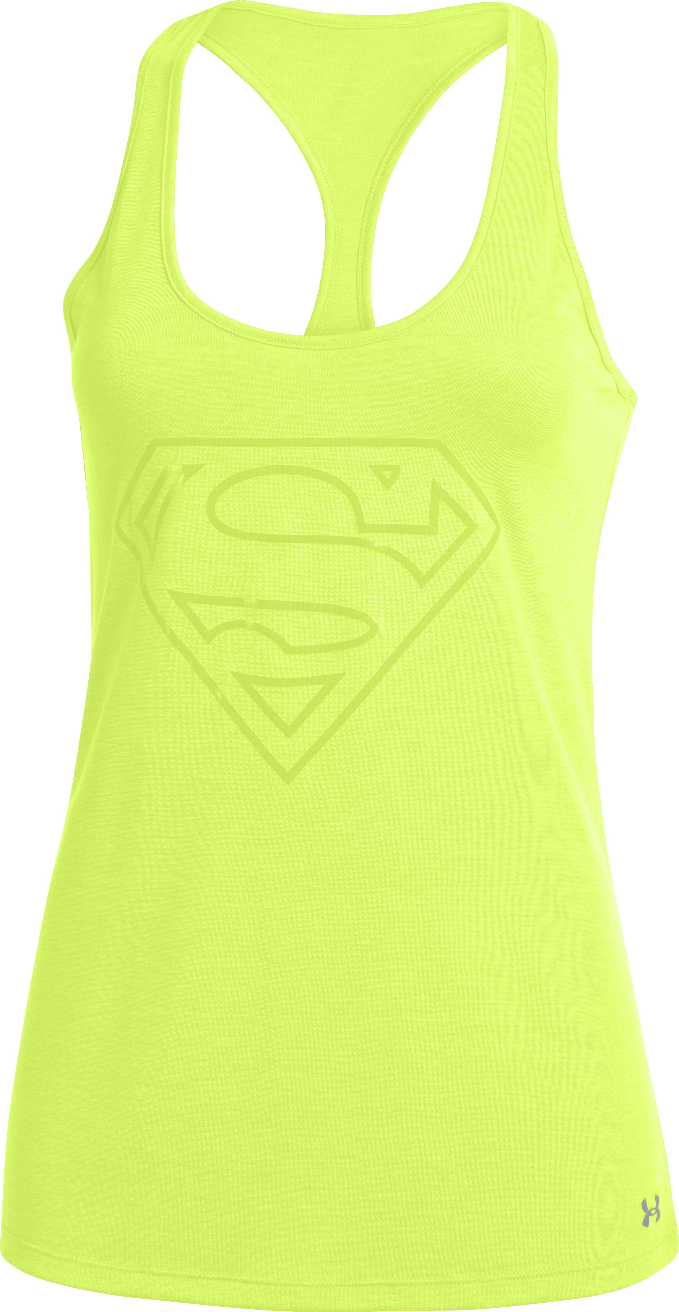 Women's UA Supergirl Tank, X-Ray, undefined