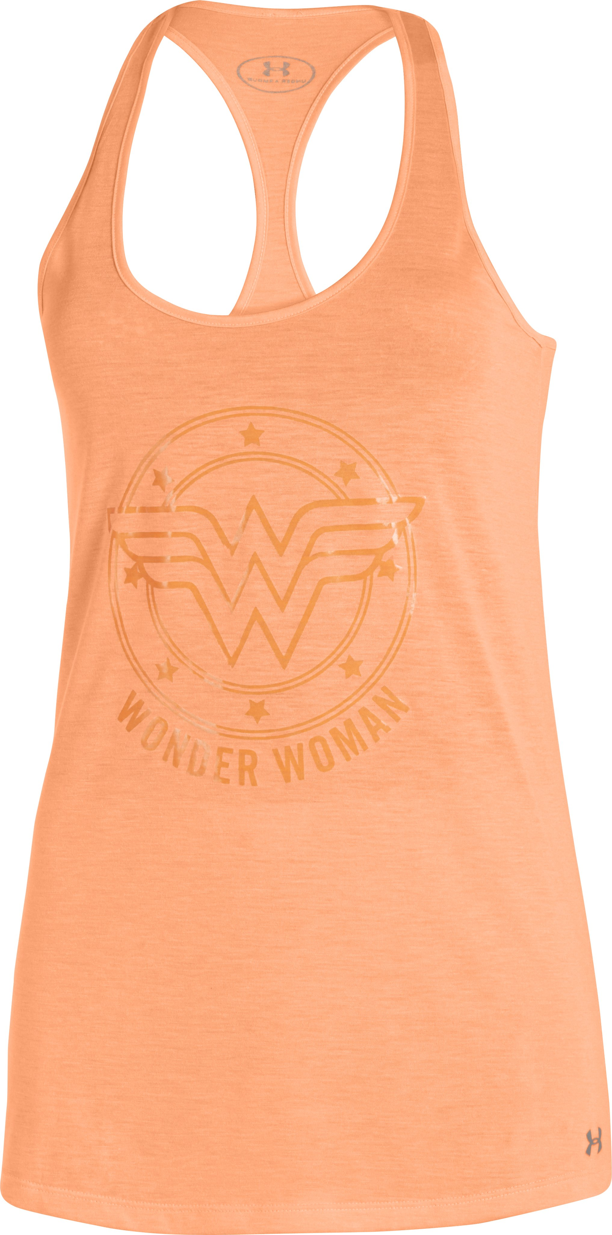 Women's Under Armour® Alter Ego Wonder Woman Tank, Afterglow