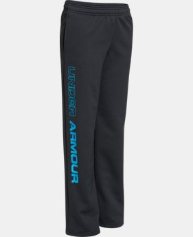 Boys' UA Storm Armour® Fleece Script Pants  2 Colors $29.99