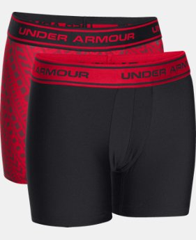 Boys' UA Original Series Printed Boxerjock® 2-Pack LIMITED TIME: FREE SHIPPING  $30
