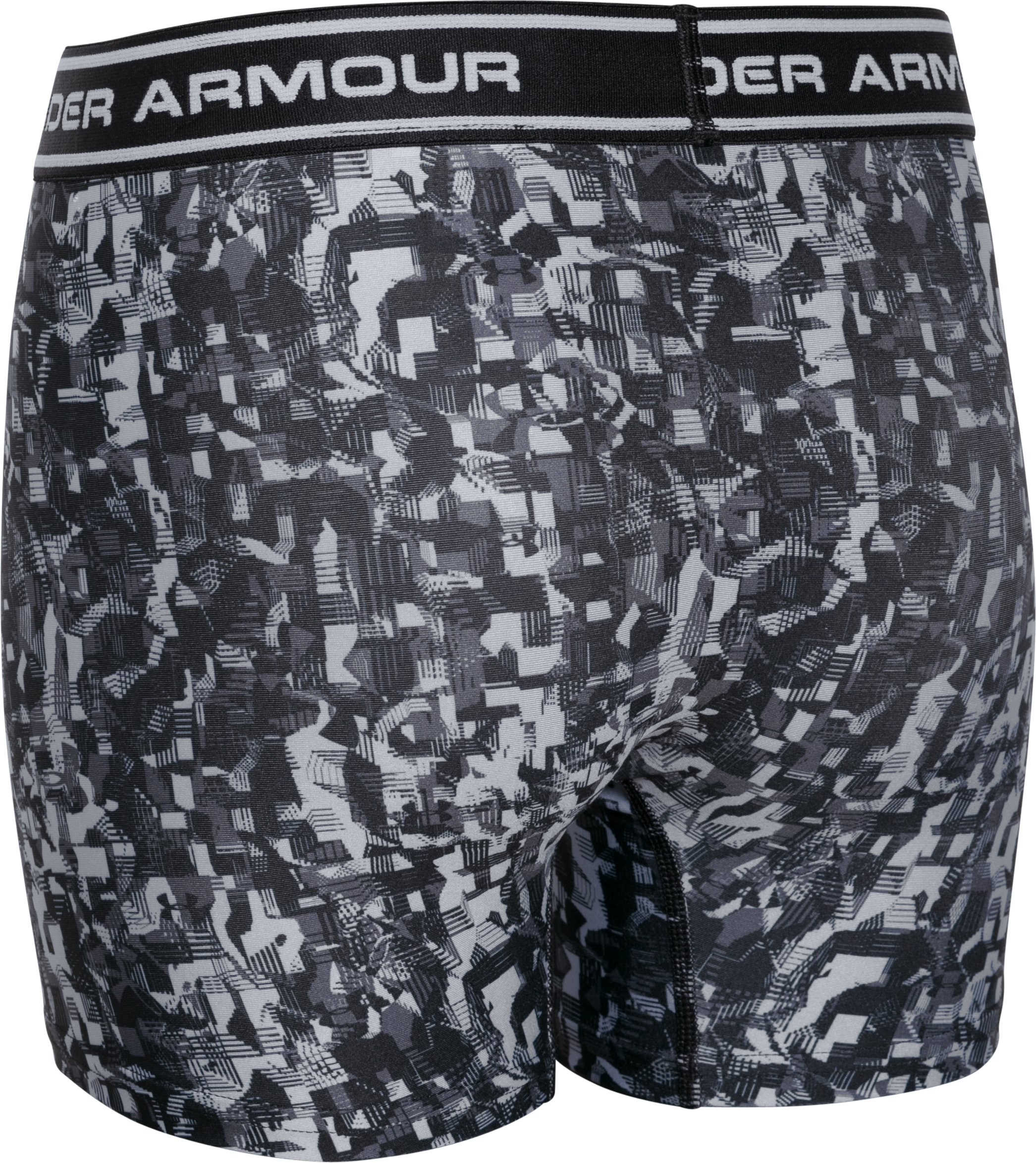 Boys' UA Original Series Printed Boxerjock® 2-Pack, Black
