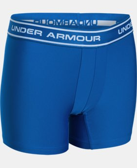 New Arrival  Boys' UA Original Series Printed Boxerjock® 2-Pack LIMITED TIME: FREE SHIPPING  $30