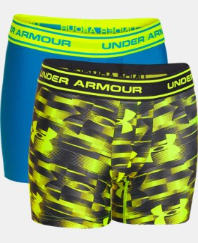 Boys' UA Original Series Printed Boxerjock® 2-Pack   $15.99 to $18.99