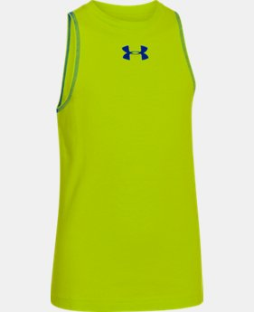 Boys' Charged Cotton® Tank  2 Colors $11.99 to $14.99