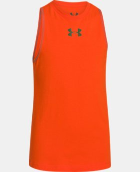 Boys' Charged Cotton® Tank