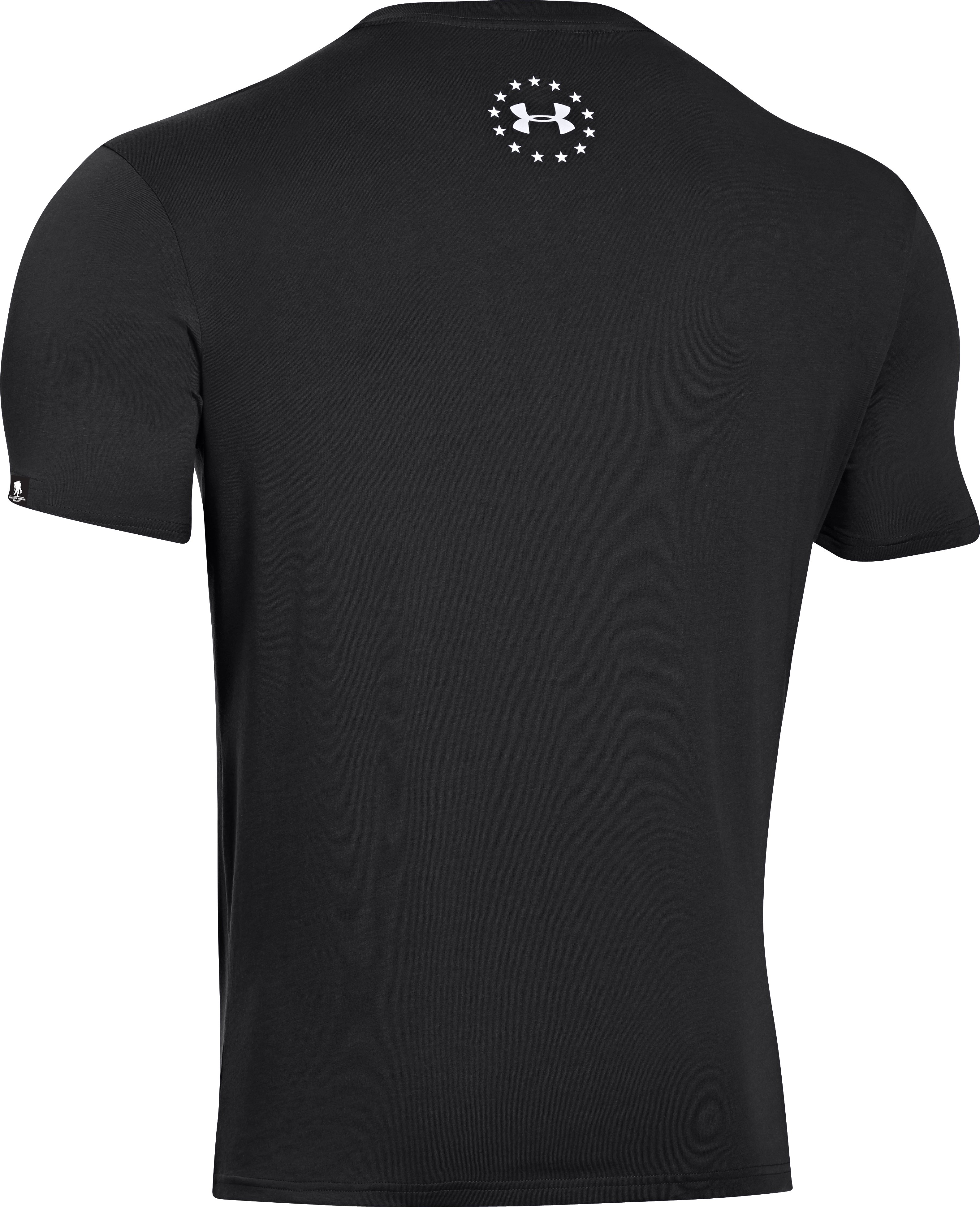 Men's UA WWP USA T-Shirt, Black , undefined