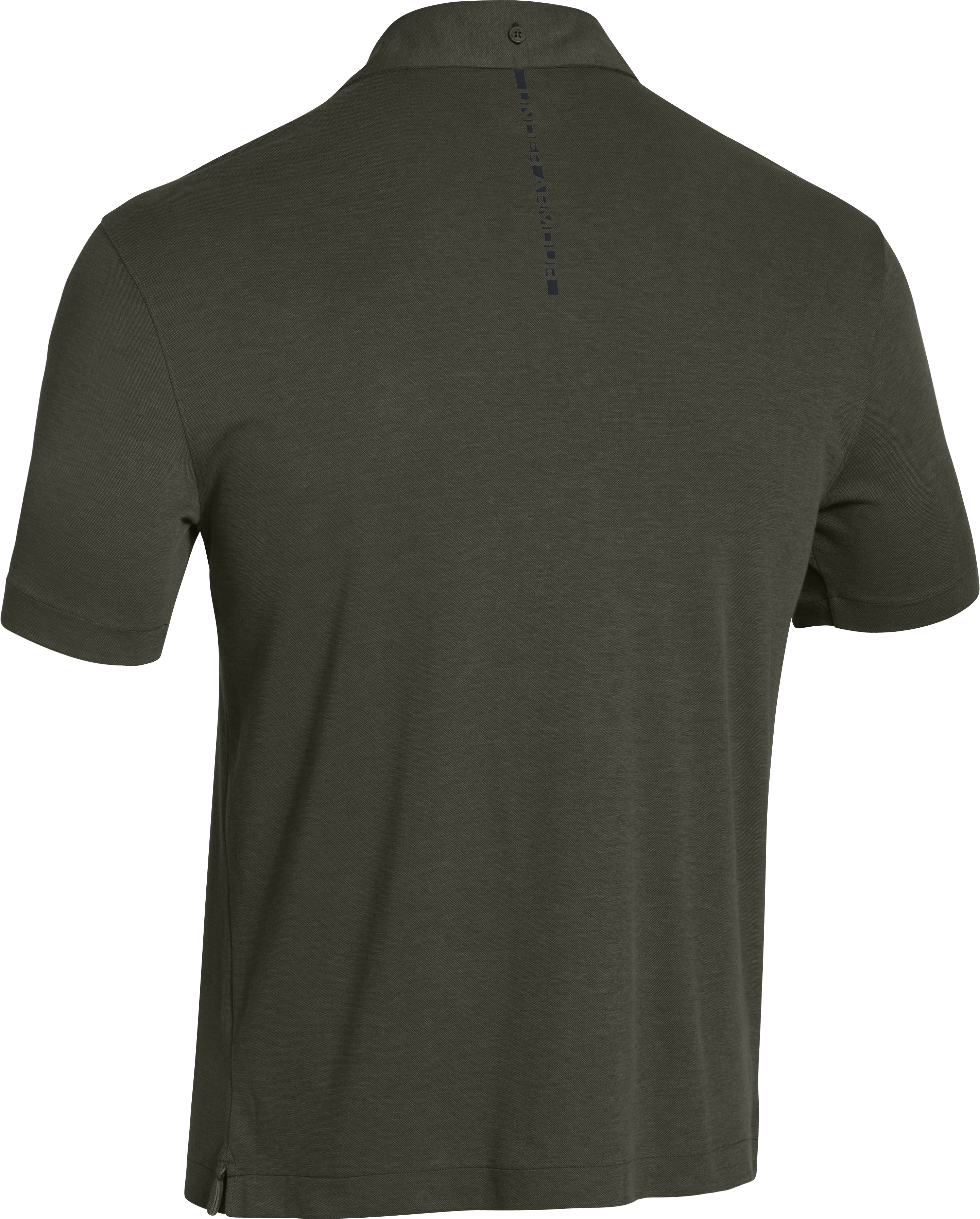 Men's UA Tips Polo, Rifle Green