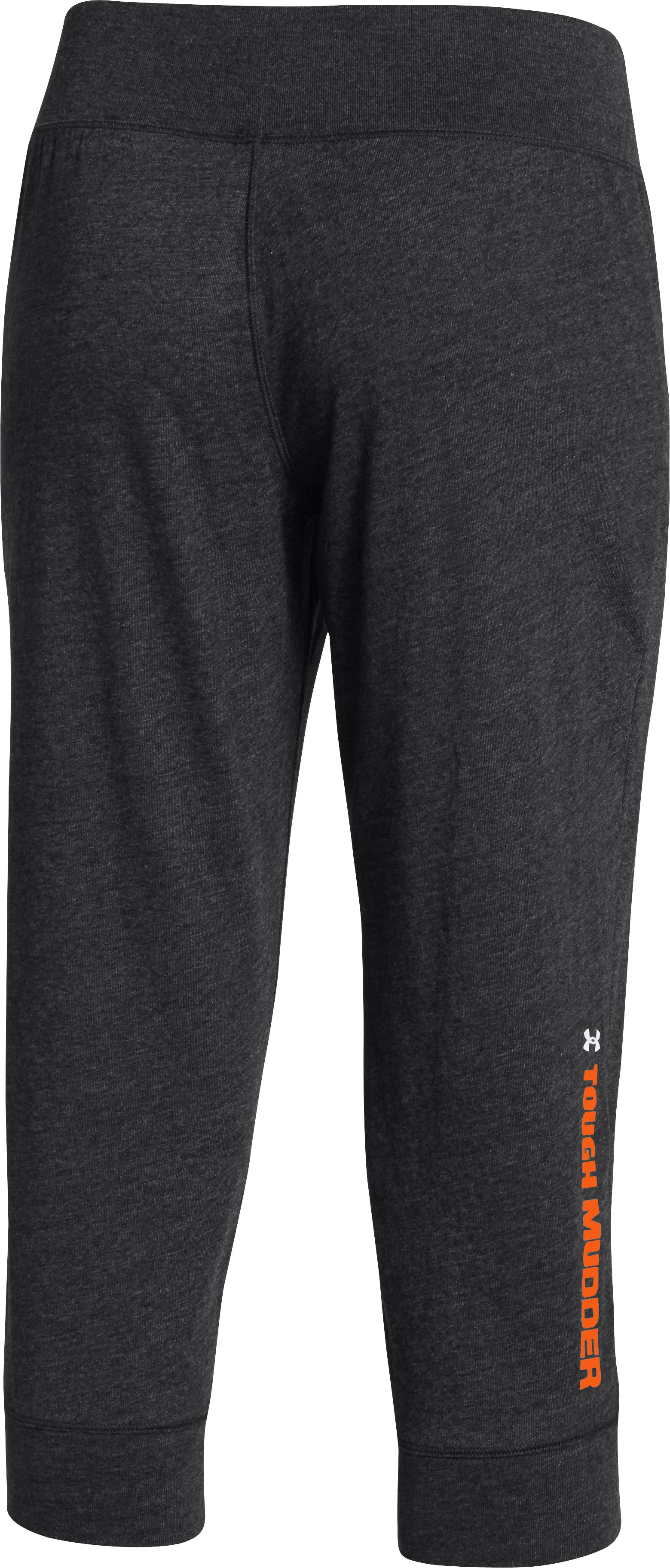 Women's Tough Mudder Charged Cotton® Legacy Capri, Black