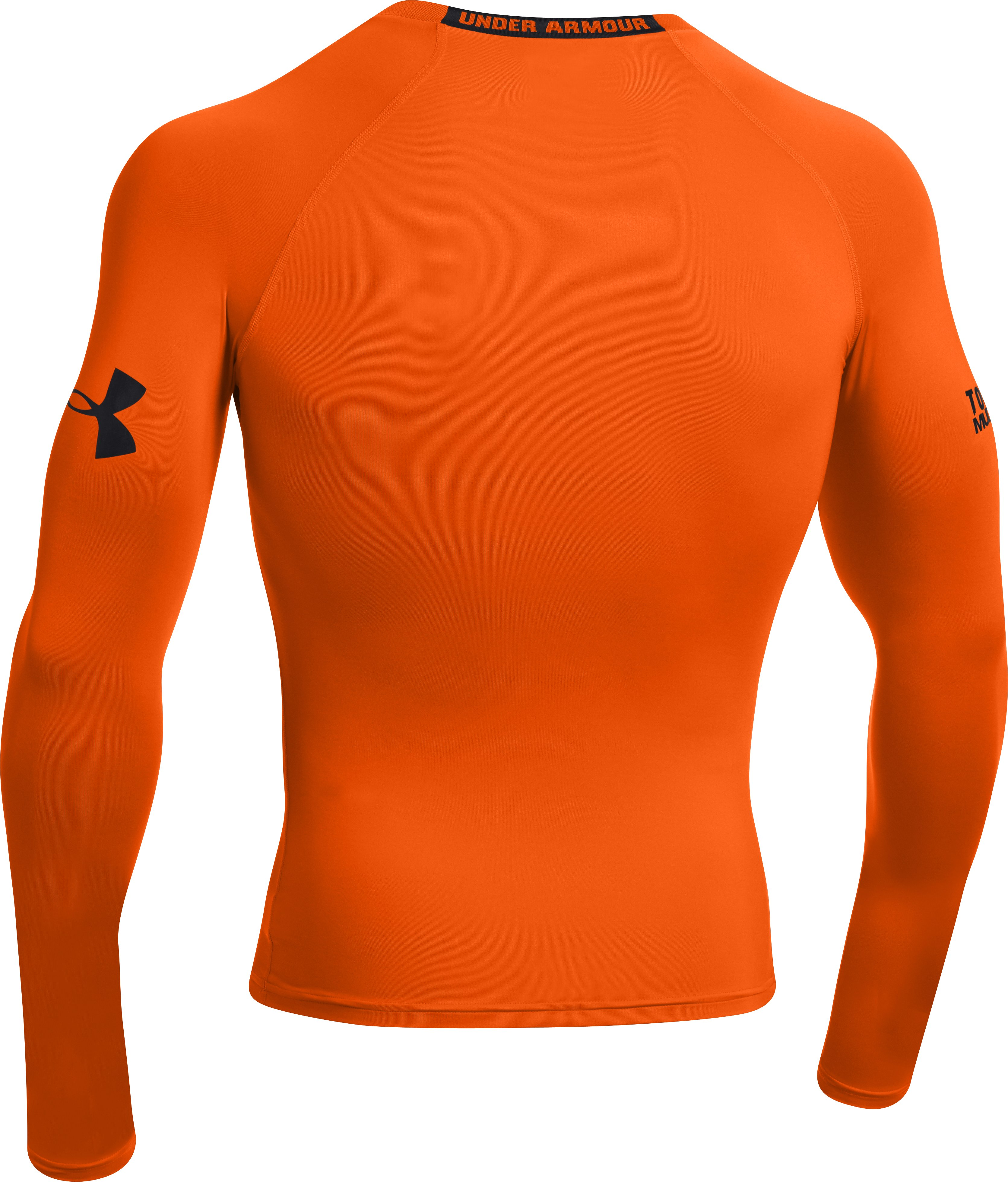 Men's UA Tough Mudder Flag Compression Long Sleeve, Vivid
