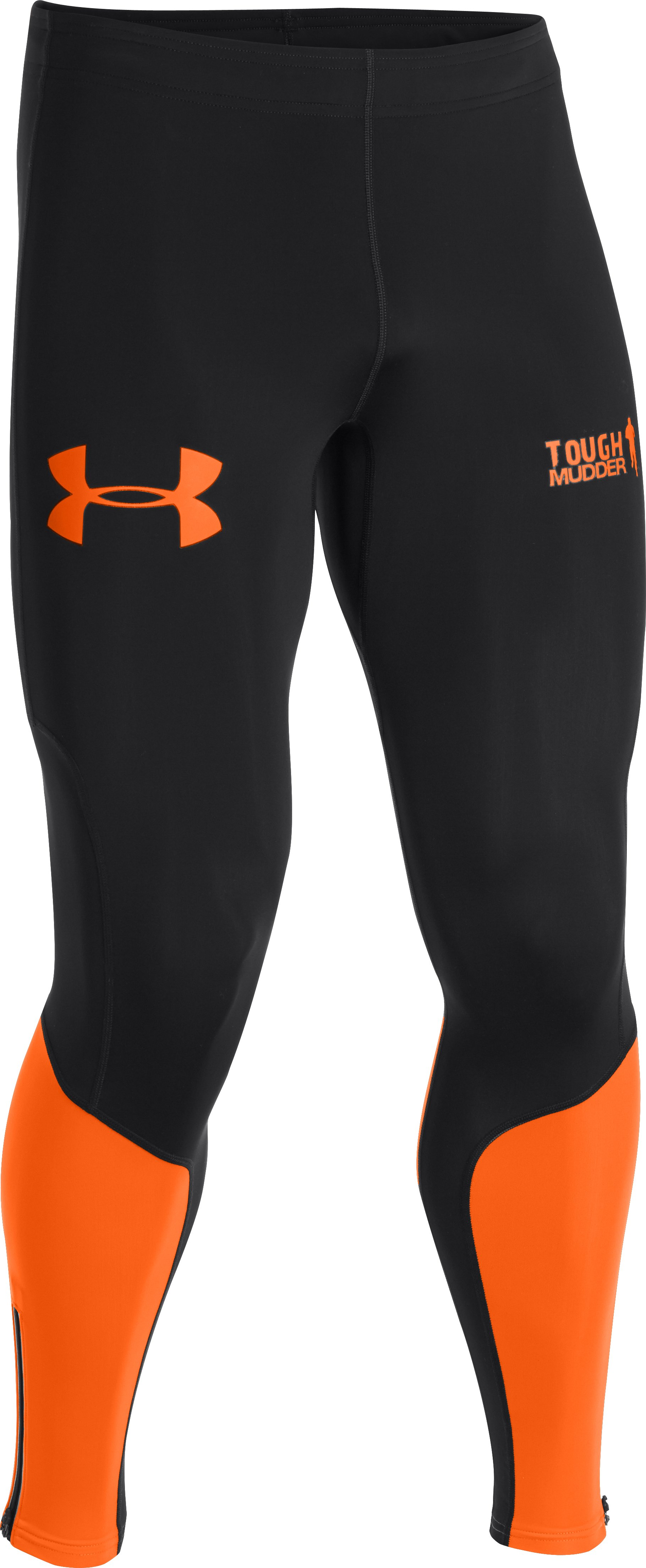 Men's UA Tough Mudder Obstacle Compression Leggings, Black , undefined