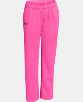 Girls' UA Armour® Fleece Pant 2.0  1 Color $17.99