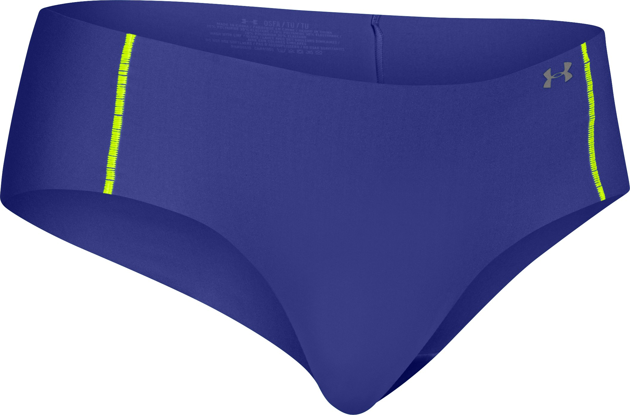 Women's UA Pure Stretch Hipster, SIBERIAN IRIS, zoomed image