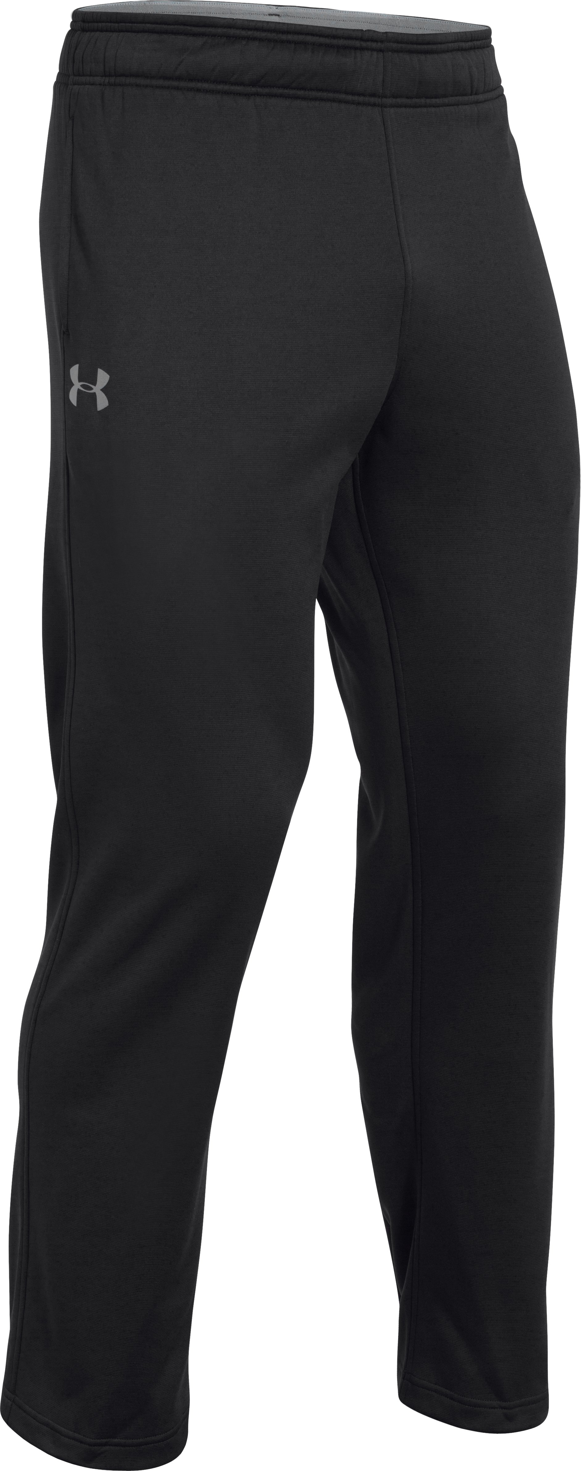 Men's Armour Fleece® In The Zone Pants, Black , undefined
