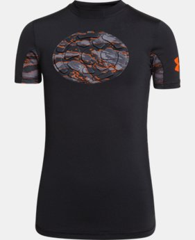 Boys' UA Gameday Armour® Chest Short Sleeve Shirt  1 Color $33.99