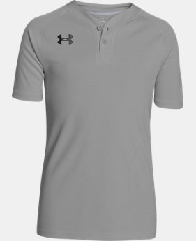 Boys' UA Lansdowne Henley LIMITED TIME: FREE U.S. SHIPPING 1 Color $18.99