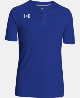 Boys' UA Lansdowne Henley LIMITED TIME: FREE SHIPPING 1 Color $24.99